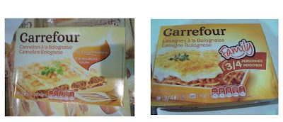horse meat at Carrefour products