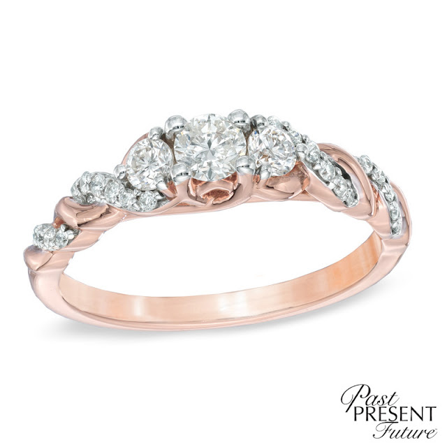 Wedding Rings With Rose Gold