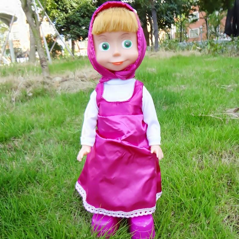 Gambar boneka masha gratis untuk anak