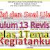 Kisi-Kisi Ulangan Kelas 1 Tema 3 Kurikulum 13 Revisi 2016