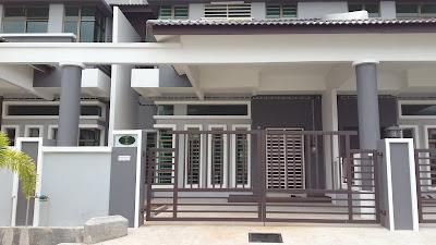 Pandangan Hadapan Rumah Oh My Melaka Homestay