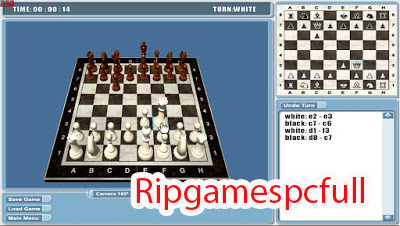 Real Chess 3D PC Games - Rip Games PC Full   Free Download