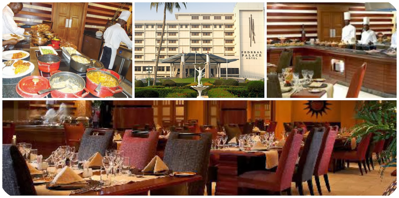 Review: federal palace hotel sunday buffet!   sisiyemmie: nigerian ...