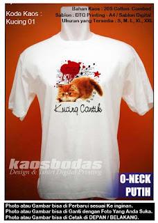 Kaos Kucing 01