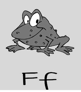 F is for Frog ~ My Father's World