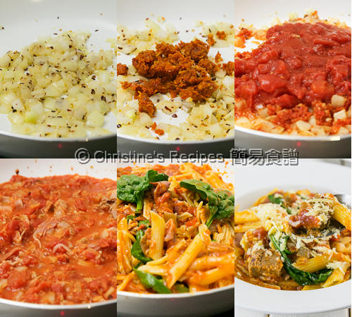 Tuna Pasta in Sundried Tomato Sauce Procedures02