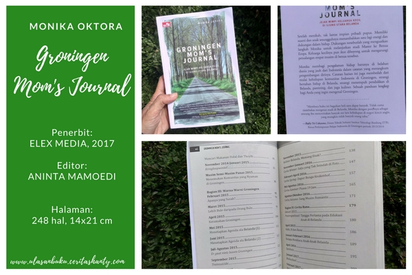 Deskripsi buku Groningen Moms Journal Monika Oktora