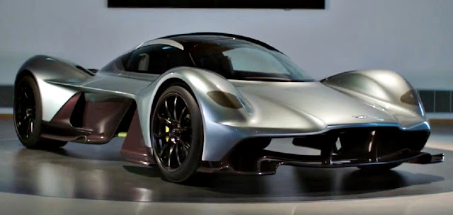 AM-RB 001 automóvil super rápido Aston Martin front