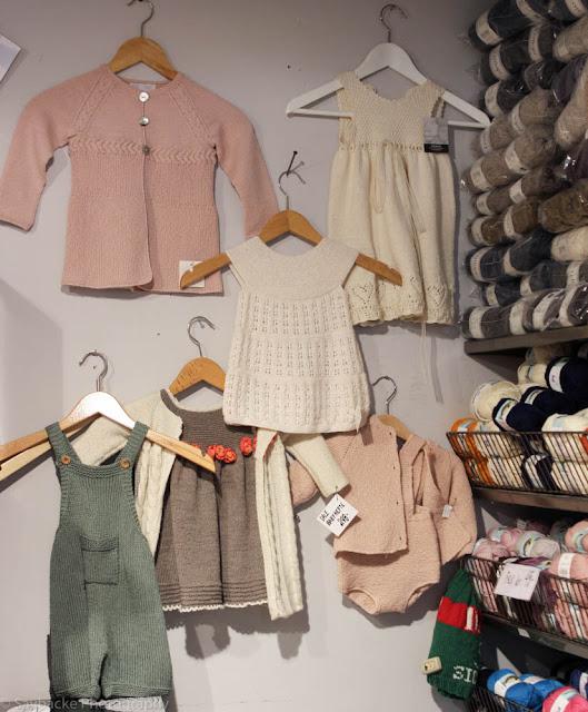 Baby knits at Jens Hoff Garn og Ide