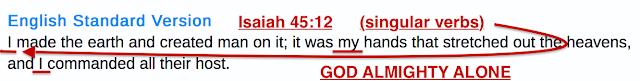 Isaiah 45:12