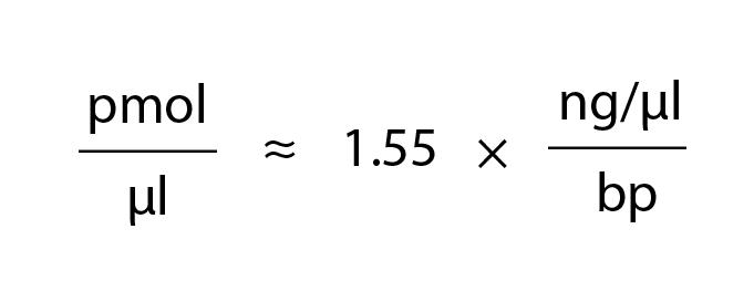 Dna, rna and oligo molecular weight (mw), mole and mass calculator.