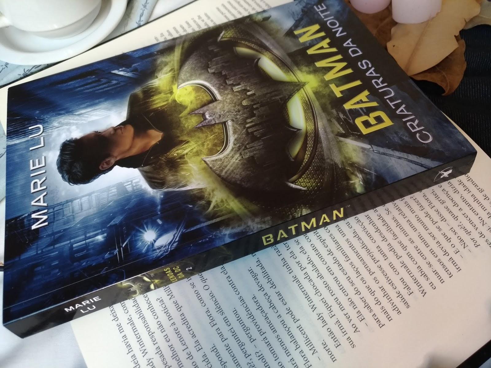 RESENHA: BATMAN: CRIATURAS DA NOITE - MARIE LU (LENDAS DA DC #2)