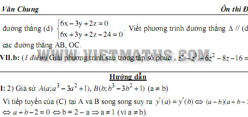 đề thi thử đại học môn toán 2014, de thi thu dai hoc mon toan 2014