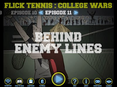 Flick Tennis College Wars HD Free Game Hack v1.4
