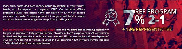 Партнерская программа в проекте Royal7 cc. Бонус 3.5%