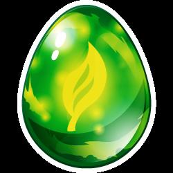 Das Erscheinen des Ei Natur-Drache