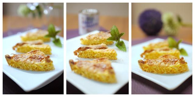 Möhren-Kokos-Kuchen mit Karamellhaube | Backen | Kuchen | Rezept