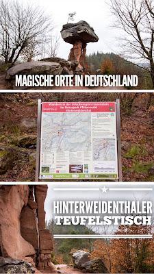 Wanderung Hinterweidenthaler Teufelstisch Tour | Schönste Orte Deutschlands | GPS-Track + Tourenbericht | Outdoor Blog | Wandern in der Pfalz