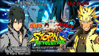 Naruto Shippuden: Ultimate Ninja Storm 4 Revolution (Narsen Mod) Apk by Adit Terbaru Gratis