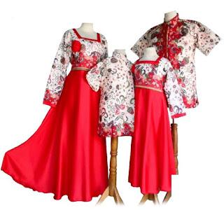 model baju batik muslim sarimbit