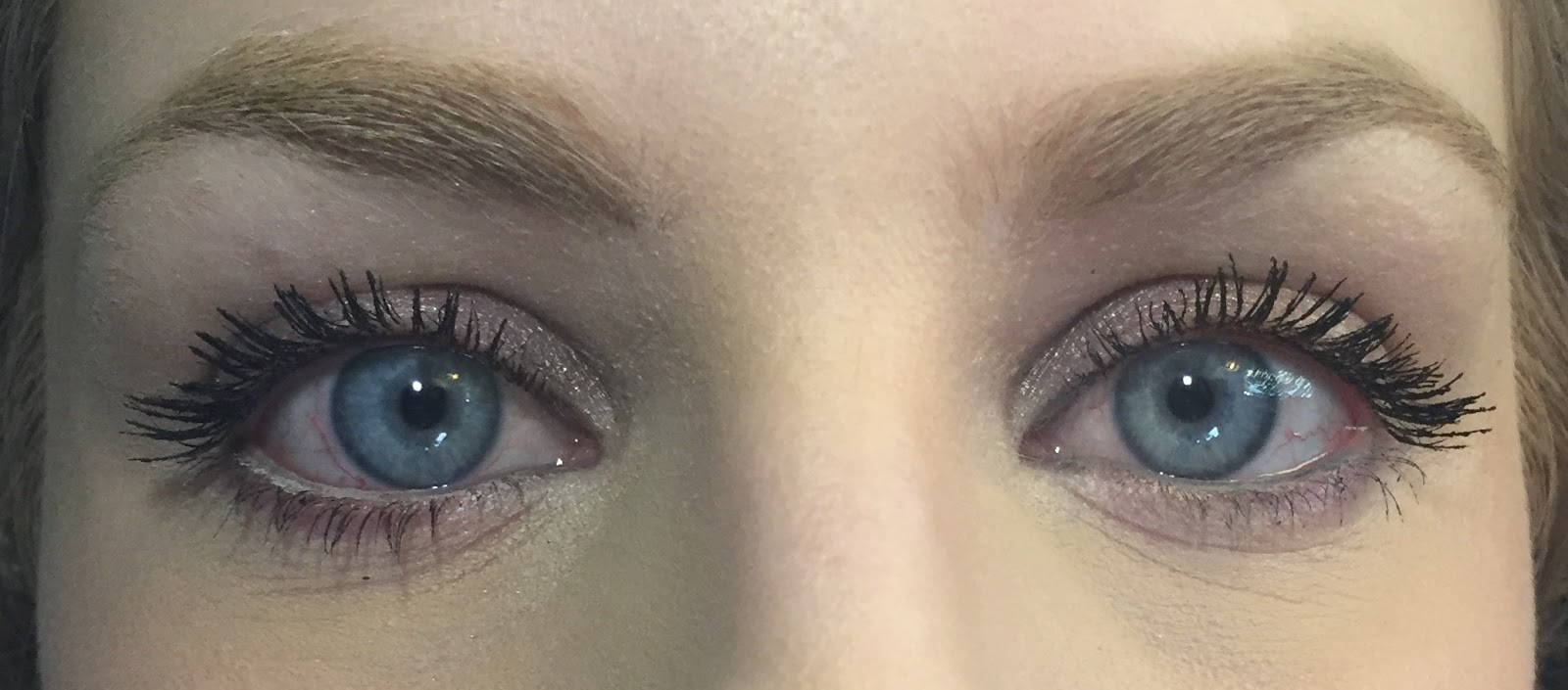 c6bd0f3cdec mascara, shadow and upper waterline from NY Minute kit. Secret Weapon pencil  on lower waterline