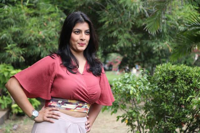 Varalaxmi Sarathkumar Stills At Sathya Movie Success Meet