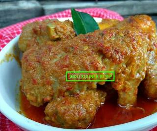 Resep Memasak Gulai Ayam Padang