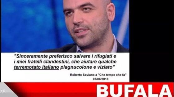 saviano boldrini bufala