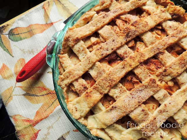 My Hot Buttered Rum Apple Pie takes the traditional homemade apple pie to a whole other level with a rich, buttery rum sauce baked right in & drizzled over the top.