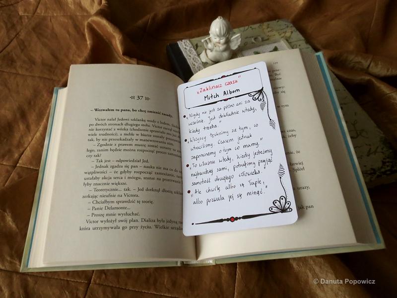 Oryginalne zakładki do książki