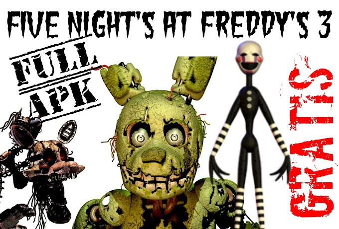 Five Night's at Freddy's 3 Full Apk