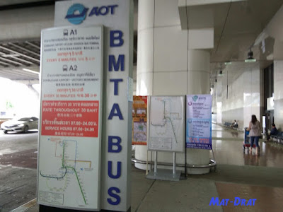 Airport Transfer Bus Don Mueng Bangkok Airport to City