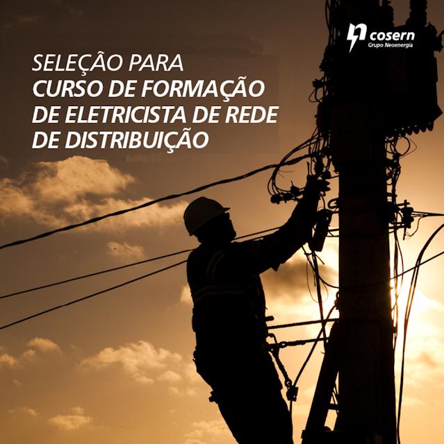Resultado de imagem para COSERN OFERECE CURSO GRATUITO DE ELETRICISTA