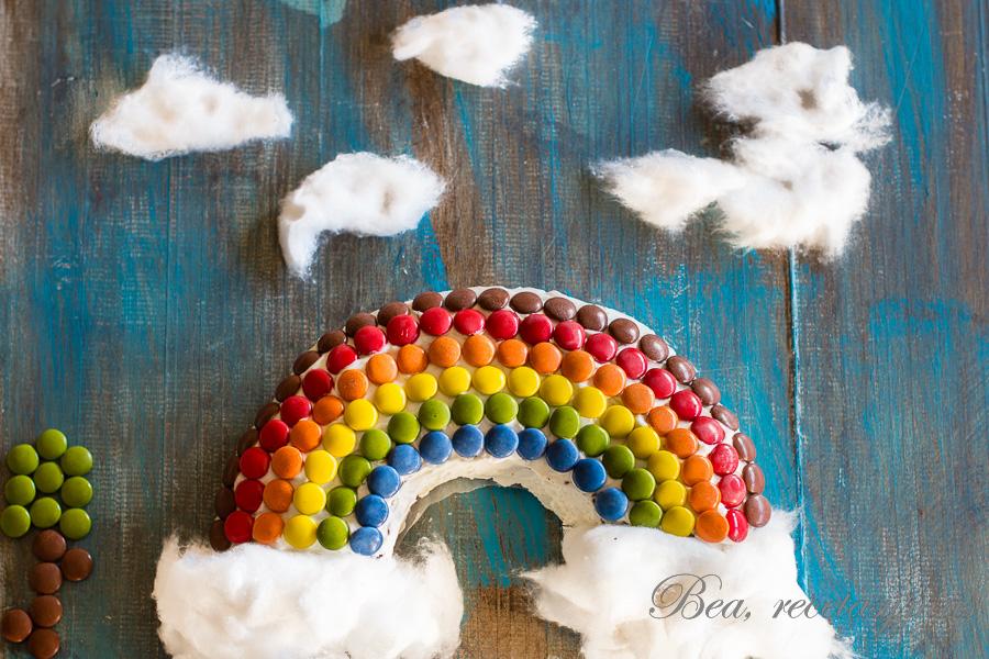 Tarta arcoiris