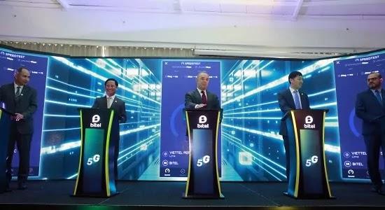 Bitel realizó la prueba de su red 5G por sus 5 años en Perú