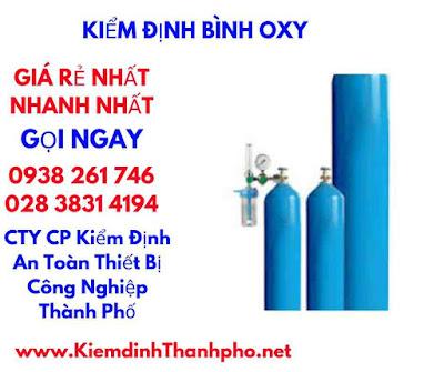 các bước kiểm định bình oxy