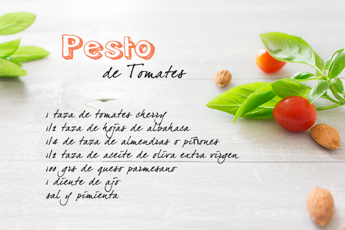 PESTO DE TOMATE EN CASA