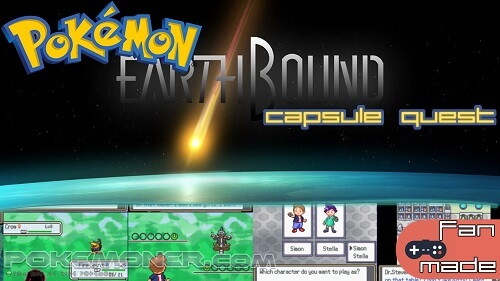 Pokemon Earthbound Capsule Quest