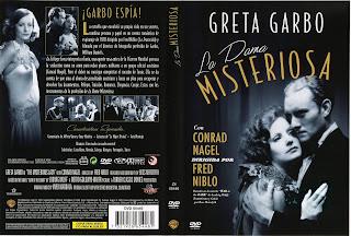 Carátula dvd: La dama misteriosa (1928)