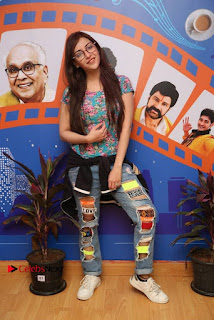Telugu Actress Angela Stills in Ripped Jeans Angela Stills At Radio City For Rogue Promotions  0011.jpg