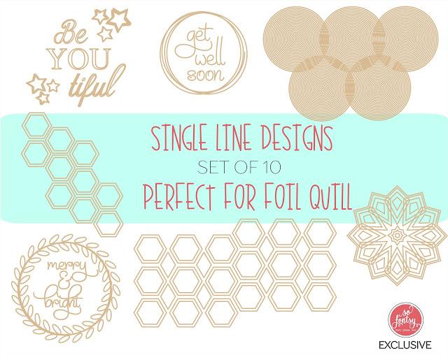 foil quil, foil quill silhouette, foil quill designs, Silhouette SVG, Cricut SVG