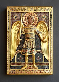 Relief of St. Michael from Mussner G. Vincenzo