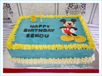 tarta mickey mouse