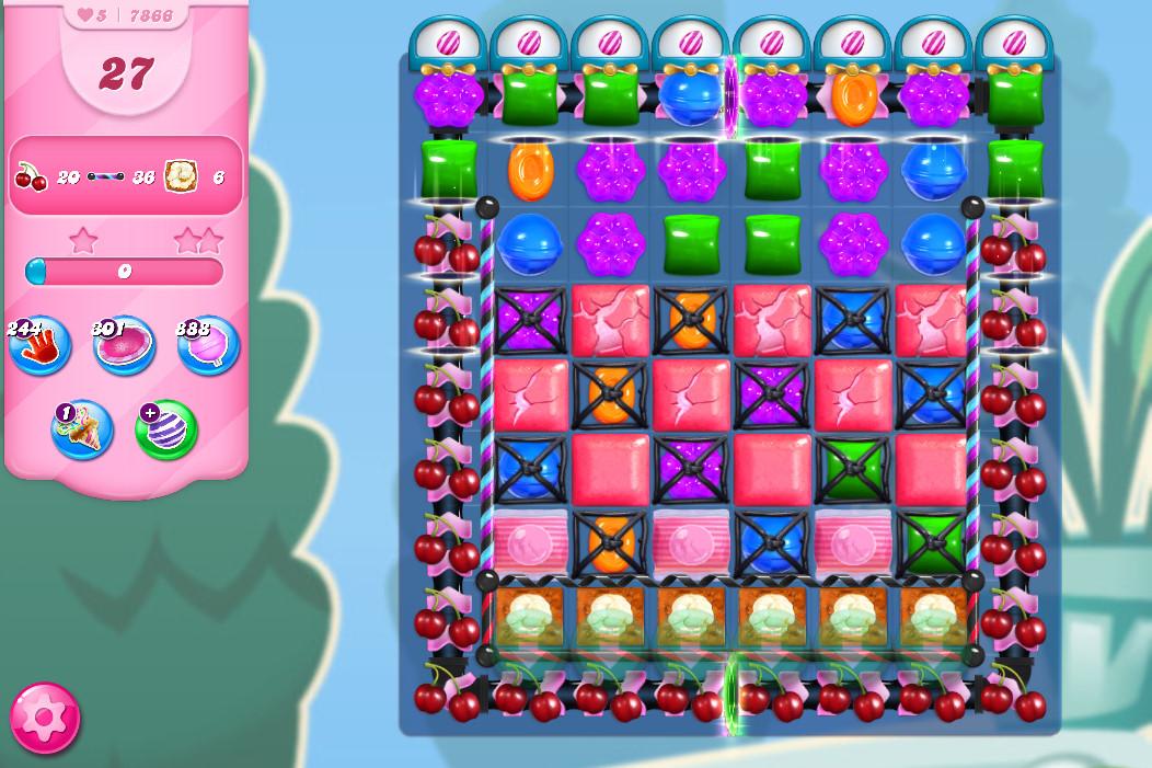 Candy Crush Saga level 7866
