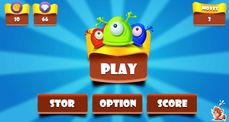 Mobile Game UI Design PARTH WORKS - Game menu design