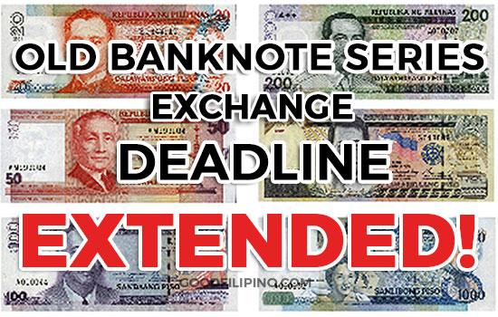 Bangko Sentral resets deadline for exchanging old peso banknotes to Dec. 29