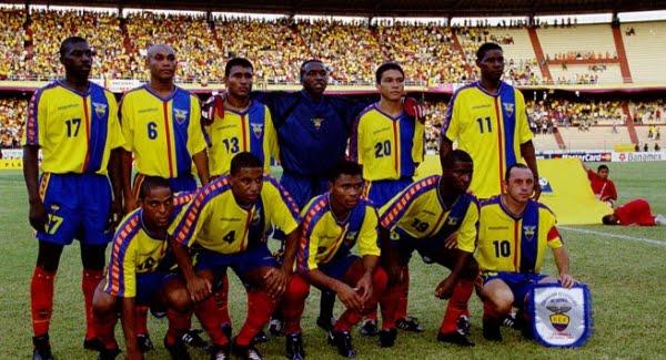 Formación de Ecuador ante Chile, Copa América 2001, 11 de julio
