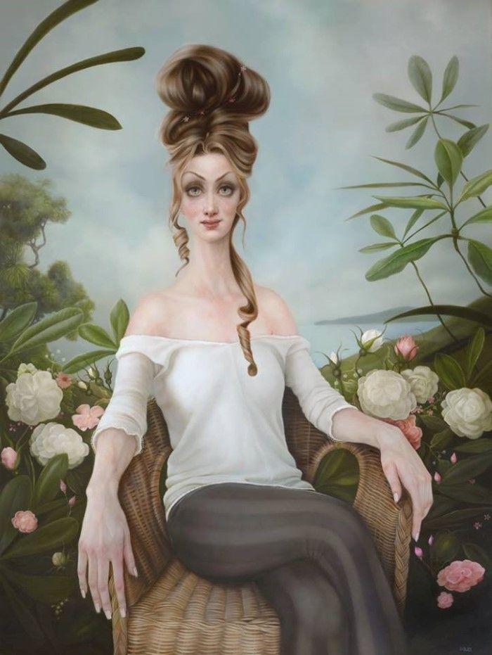 Новозеландский художник. Sarah Dolby