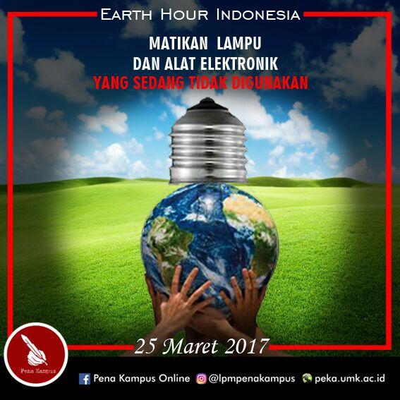 Peduli Lingkungan dengan Gerakan Earth Hour yang Mendunia