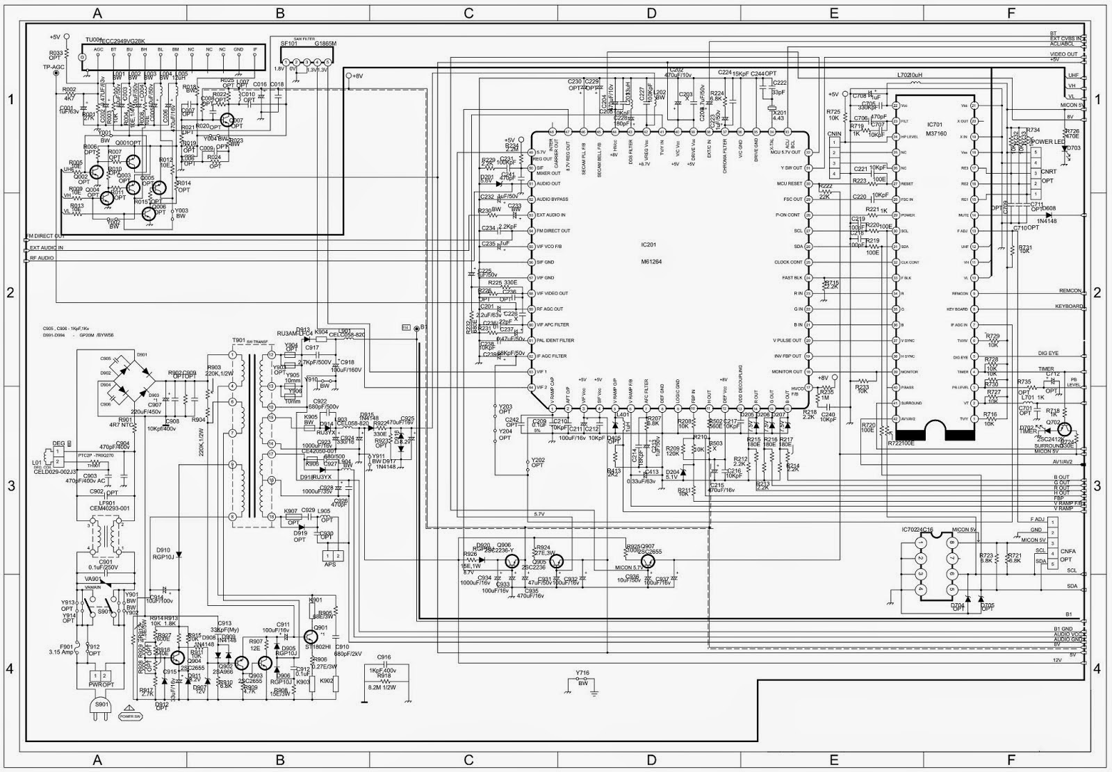 medium resolution of onida igo service code tips and trick electronic rh tips trick electronic blogspot com wiring a lcd tv block diagram of lcd tv